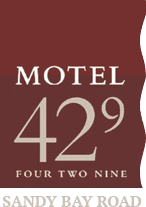 Motel Sandy Bay, Hobart Accommodation - Motel 429